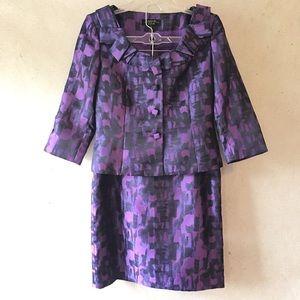 Tahari Arthur S. Levine Luxe Skirt Suit SZ 6